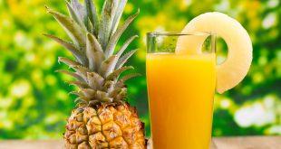 عصير الاناناس والتبويض