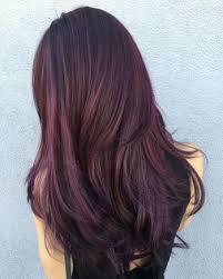 صبغة شعر لونها برغندي غامق او باذنجاني
