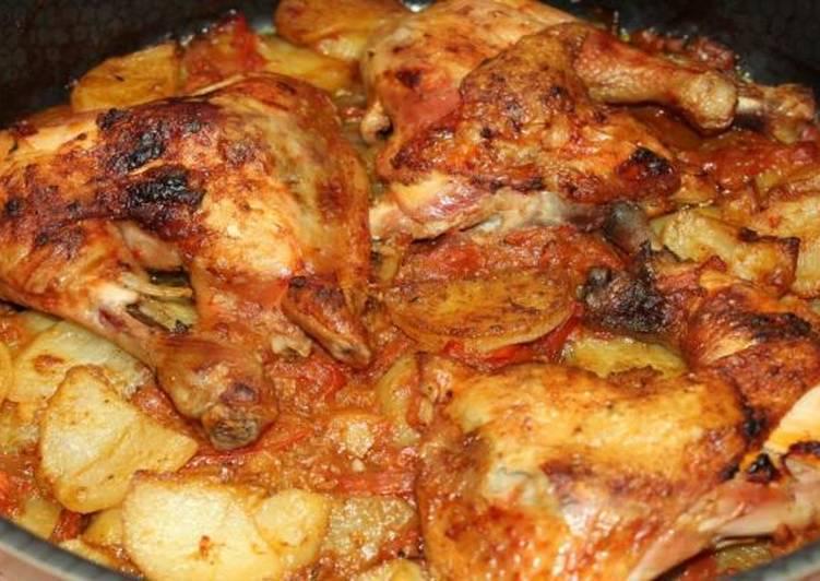 صينية البطاطس من سفرة ملاك بعيوني الكل اعجب بها و طلب طريقته