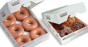 دونات ام شادن بطريقة كرسبي كريم ودانكن حجم مضاعف وطعم روعه وعجينه خفيفه Doughnuts