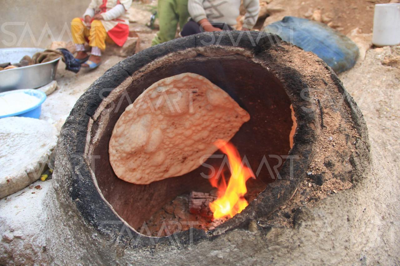 خبز الخبازة و بالصور